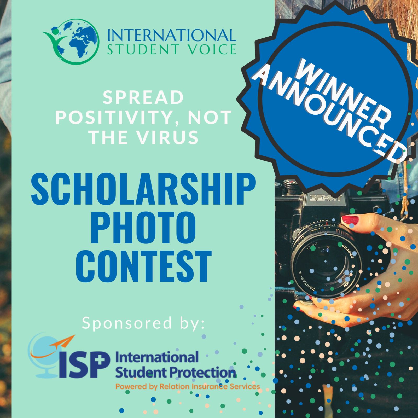 international student voice scholarship photo contest